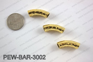 Metal bar gold 8x30mm PEW-BAR-3002