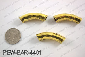 Metal bar gold 10x44mmPEW-BAR-4401