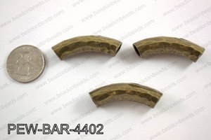 Metal bar bronze 10x44mmPEW-BAR-4402