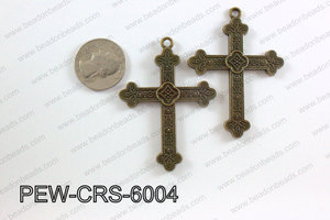 Pewter Cross bronze 45mm x 60mm PEW-CRS-6004