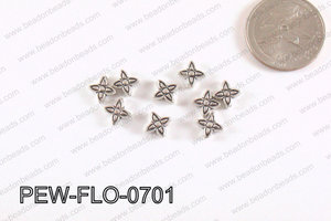 Flower Spacer Silver 7mm PEW-FLO-0701