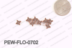 Flower Spacer Copper 7mm PEW-FLO-0702