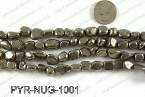 Pyrite nugget 10x10mm PYR-NUG-1001
