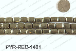 Pyrite Rectangle 10x14mm PYR-REC-1401