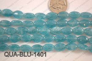 Dyed Blue Quartz Oval 10x14mm QUA-BLU-1401