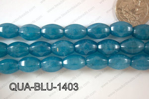 Blue Quartz Grape Faceted 10x14mm QUA-BLU-1403