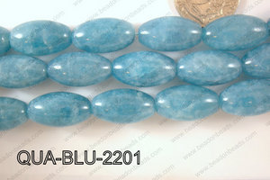 Blue Quartz Seed 13x22mm QUA-BLU-2201