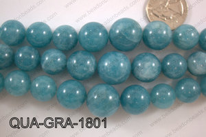 Dyed Blue Quartz Gradual 8-18mm QUA-GRA-1801