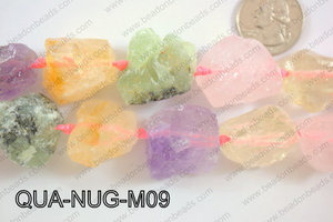 Quartz Nugget 20-25mm QUA-NUG-M09
