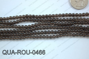 Smoky Quartz Round 4mm QUA-ROU-0466