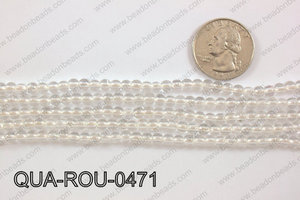 Quartz Round 4mm QUA-ROU-0471