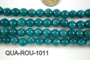 Dyed Blue Quartz Round 10mm QUA-ROU-1011