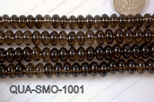 Smoky Quartz Rondel 10mm QUA-SMO-1001
