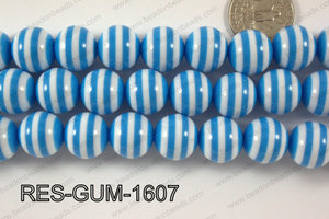 Bubble Gum Bead 16mm RES-GUM-1607