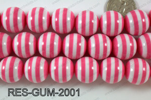 Bubble Gum Bead 20mm RES-GUM-2001