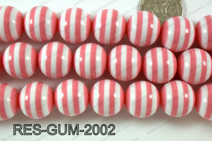 Bubble Gum Bead 20mm RES-GUM-2002