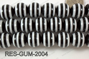 Bubble Gum Bead 20mm RES-GUM-2004