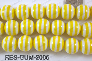 Bubble Gum Bead 20mm RES-GUM-2005