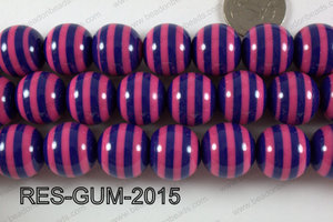 Resin gumball 20mm purple RES-GUM-2015