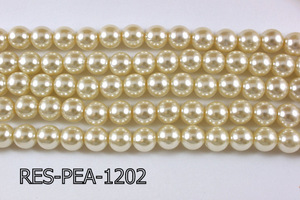 Resin Pearl 12mm 13'' RES-PEA-1202