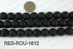 Acrylic Round Black 16mm RES-ROU-1612