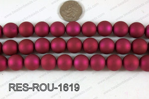 Acrylic Round Hot Pink 16mm RES-ROU-1619