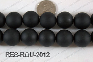 Acrylic Round Black 20mm RES-ROU-2012