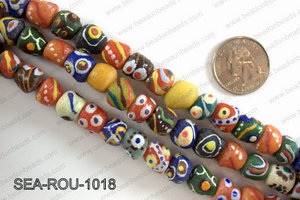 Sankas beads 10mm SEA-ROU-1018