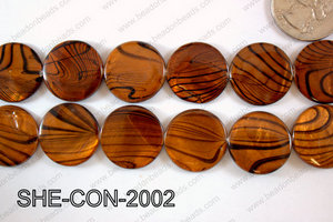 Shell Coin 20mm SHE-CON-2002