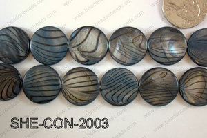Shell Coin 20mm SHE-CON-2003