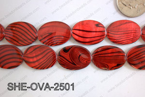 Shell Oval 25x18mm SHE-OVA-2501