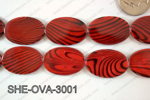 Shell Oval 20x30mm SHE-OVA-3001