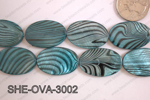 Shell Oval 20x30mm SHE-OVA-3002