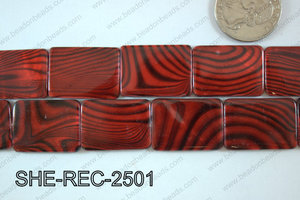 Shell Rectangle 18x25mm SHE-REC-2501