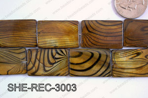 Shell Rectangle 20x30mm SHE-REC-3003