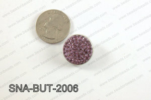 snap button 20 mm purple round SNA-BUT-2006