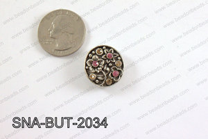 snap button 20 mm pink round SNA-BUT-2034