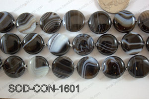 Sardonyx Coin 16mm SOD-CON-1601