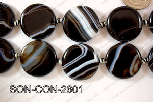 Sardonyx Coin 26mm SON-CON-2601