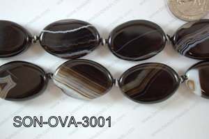 Sardonyx Oval 20x30mm SON-OVA-3001