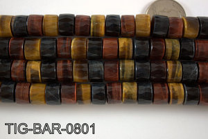 Tiger Eye Barrel 8x12mm TIG-BAR-0801