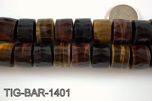 Tiger Eye Barrel 14x18mm TIG-BAR-1401
