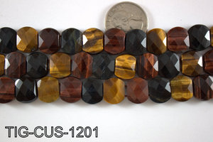 Tiger Eye Cushion 12x14mm TIG-CUS-1201
