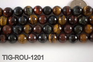 Tiger Eye Round 12mm TIG-ROU-1201