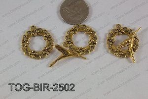 Toggle Bird Gold 25mm TOG-BIR-2502