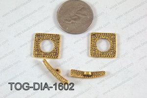 Toggle Damond Gold 16mm TOG-DIA-1602