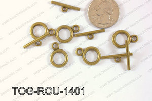 Toggle Round 14mm TOG-ROU-1401