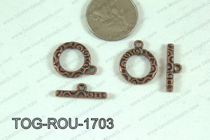 Toggle Copper 25mm TOG-ROU-1703