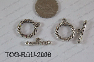 Toggle Silver 20mm TOG-ROU-2006