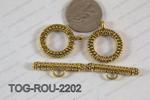 Toggle Gold 22mm TOG-ROU-2202